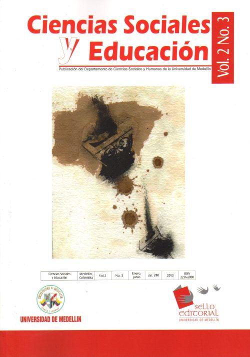 Portada Revista Ciencias Sociales y Humanas