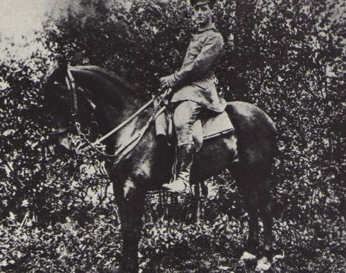 Max Ernst. Movilizado. 1914.