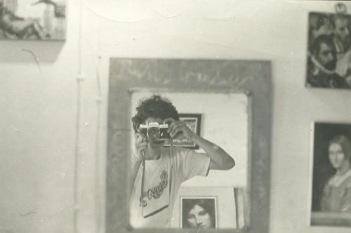 Sergio González. Autorretrato. 1982.