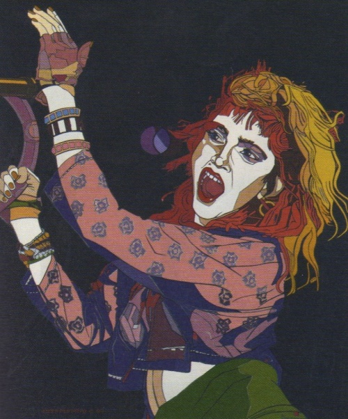 Madonna. Acrílico sobre tela. 1987.