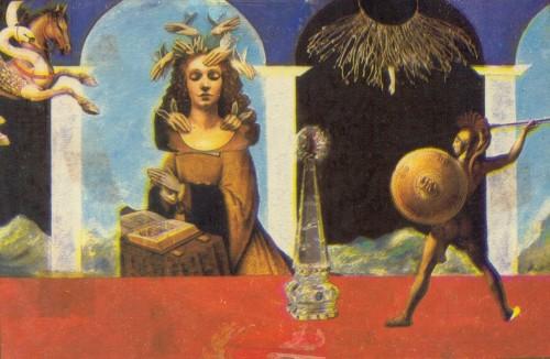 Sergio González. Collage. 1988